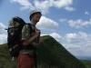 Miki obdivuje hory