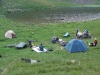Tábor na břehu Dohjasky